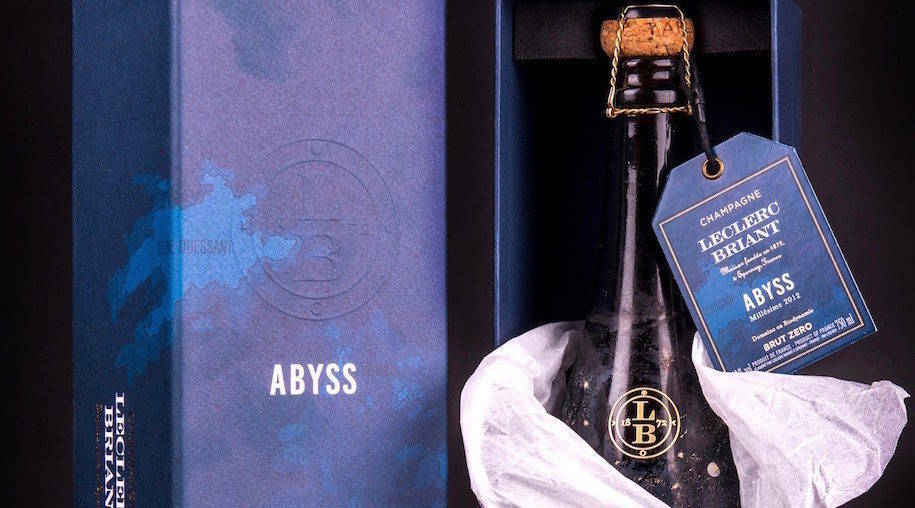 champagne leclerc briant: cuvee abyss