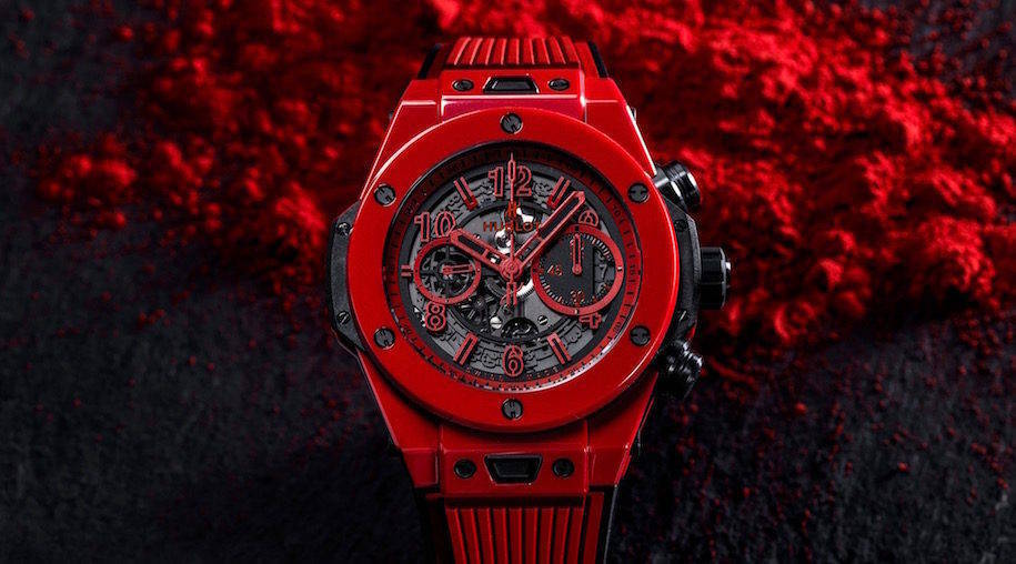HUBLOT : BIG BANG UNICO RED MAGIC